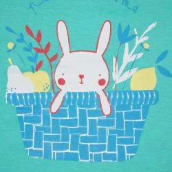 Conjunto corto algodón niño: camiseta manga corta y pantalón